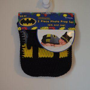 Batman 0-3 Months 2 Piece Photo Prop Costume Set